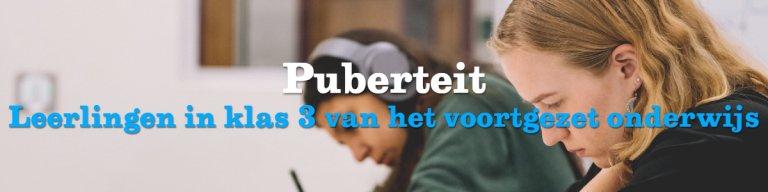 header 'Puberteit'